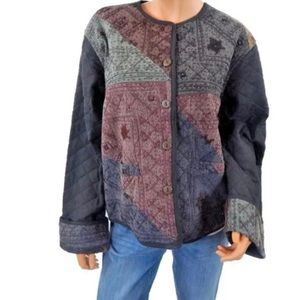 Sacred Threads Embroidered Quilted Jacket M/L
